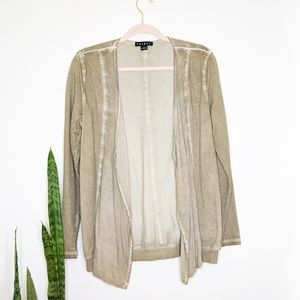 TRIBAL Cascading Open Front Cardigan